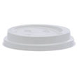 12OZ WHITE RIPPLE LIDS