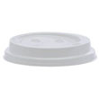 8OZ WHITE RIPPLE LIDS